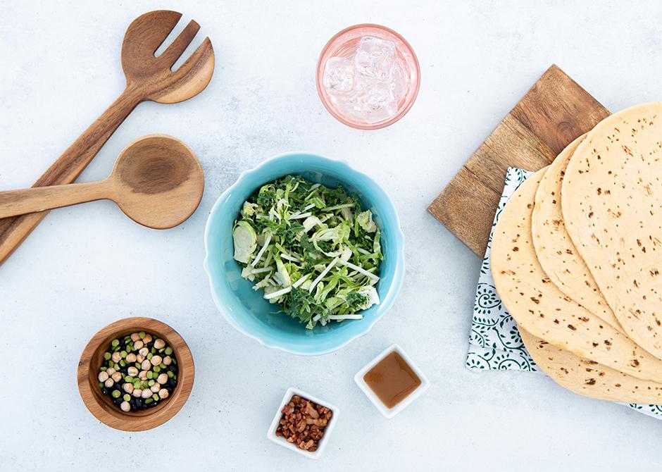 Fiber-filled lunch foods