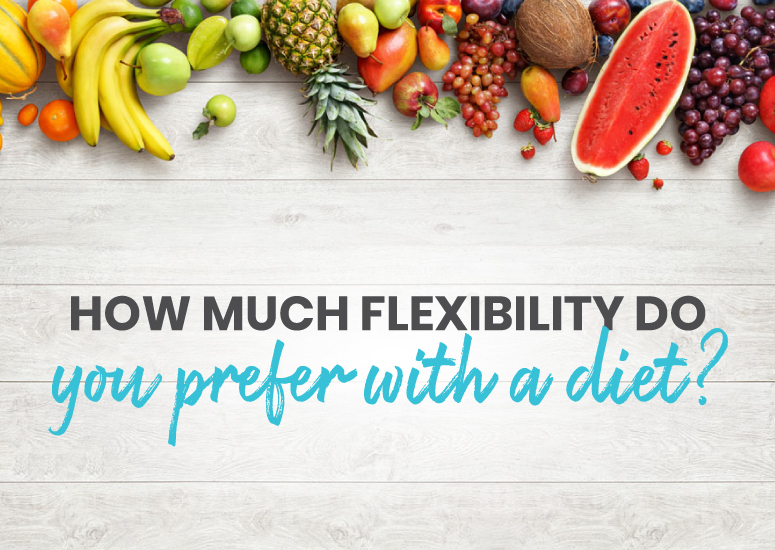How much flexibility do you prefer with a diet?