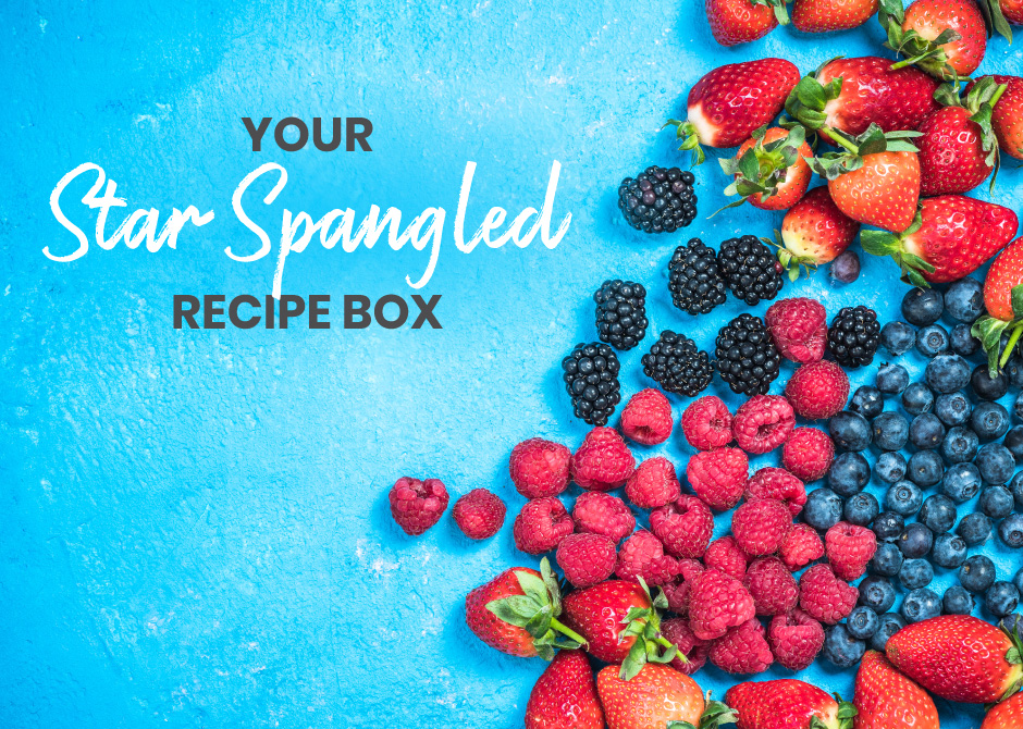 Your Star Spangled Recipe Box