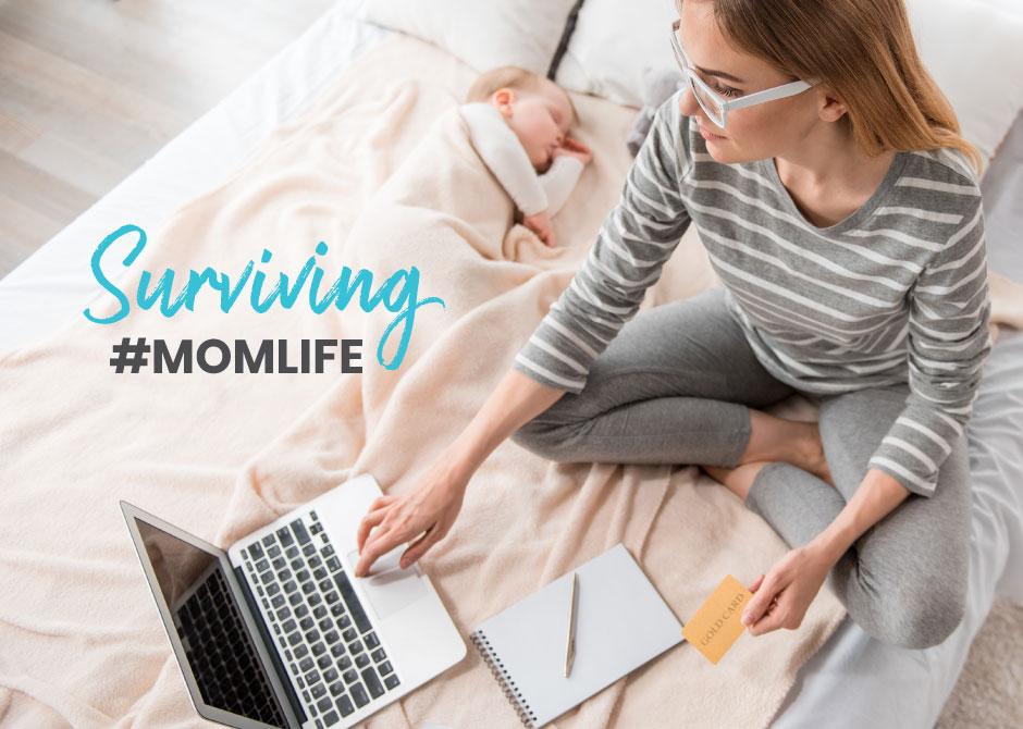 Surviving #momlife